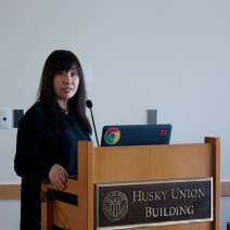Miki Konno began the event with her discussion on what 5 things matter during an interview.